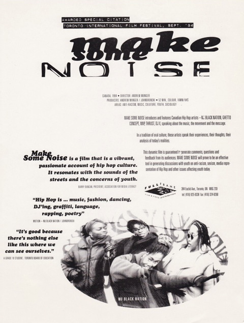Make Some Noise One Sheet